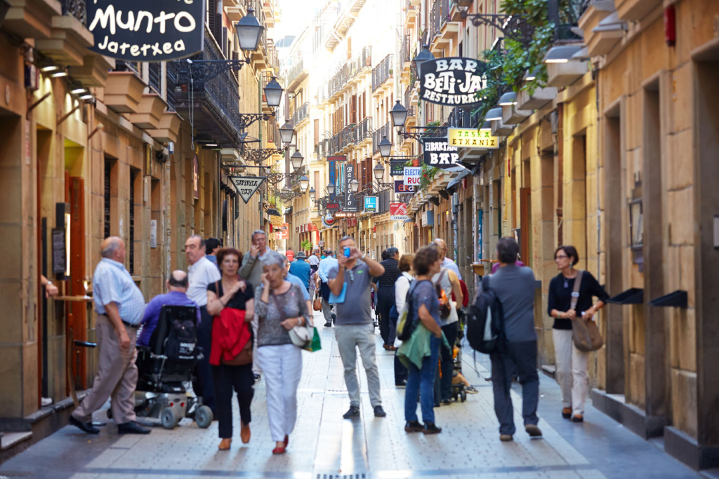 Best Pintxos Bars in San Sebastian, Spain