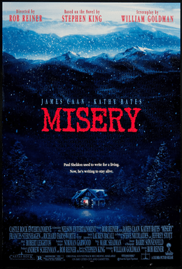 Misery (1990) film poster