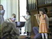 A few videos: Young Flute Students AND Teen Flutists several years later!