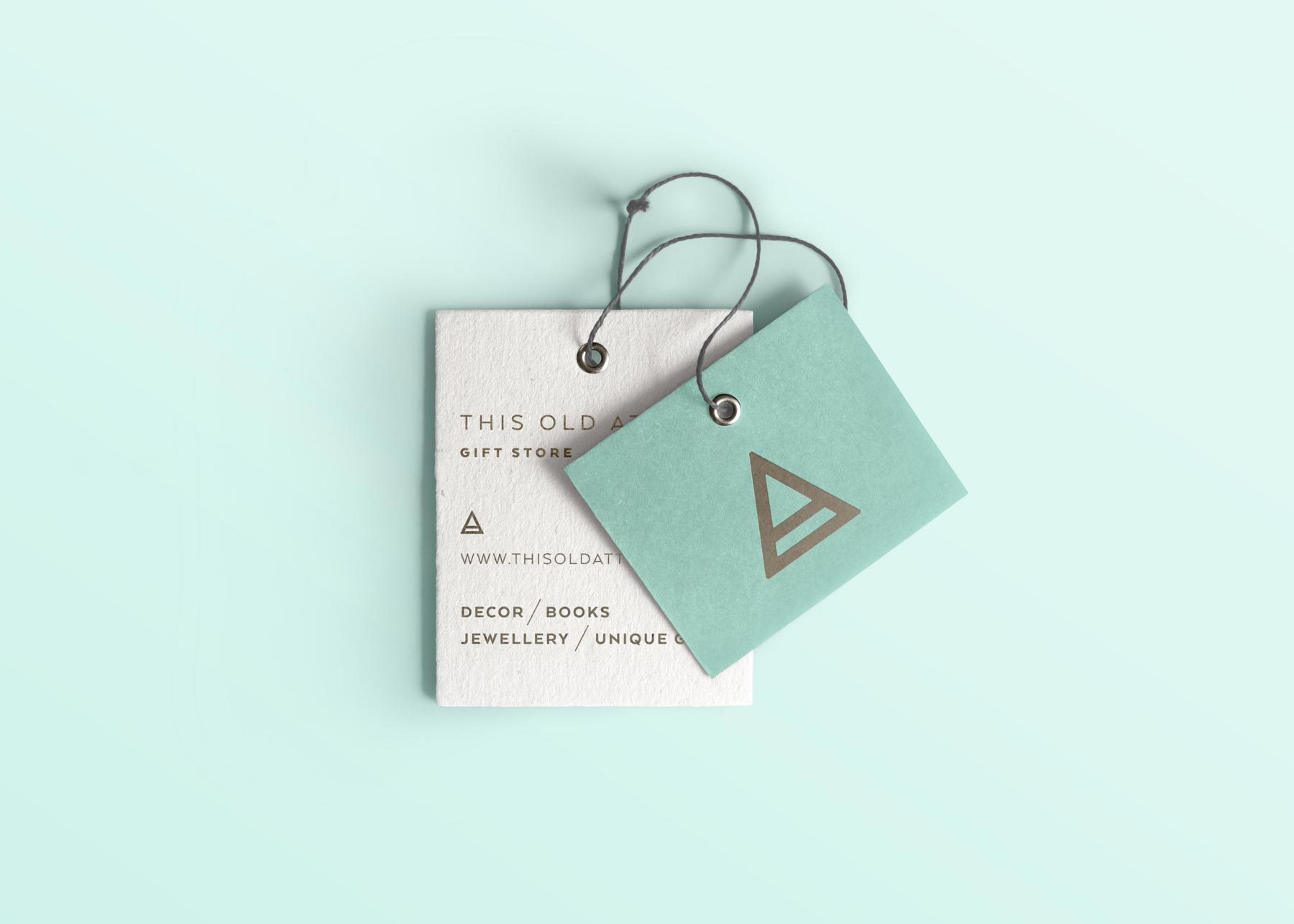 This Old Attic swing tags, designed by Lisa Furze