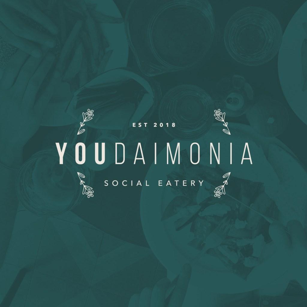 Youdaimonia logo design | Lisa Furze