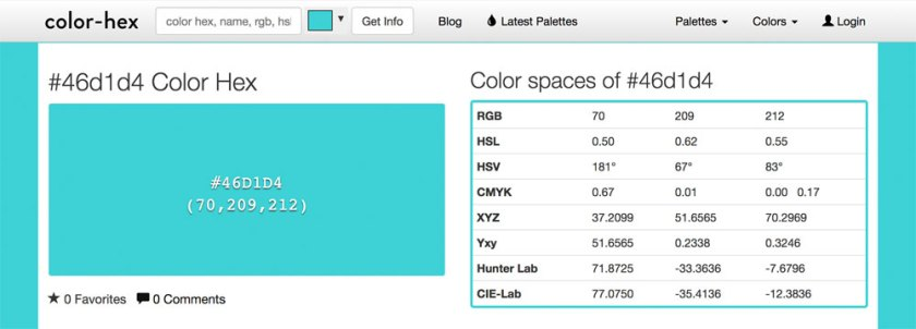 Color Hex — 6 free tools to help you pick iconic brand colours