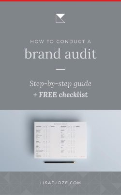 Here is a step-by-step guide to take you through the process of how to conduct a brand audit on your business or blog. Download a free checklist to help!