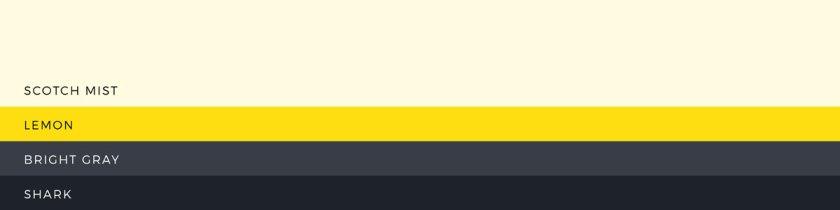 22 hand-picked colour palettes | lisafurze.com