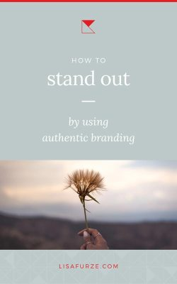 How to stand out and grow organically. Why the best thing you can do for your business is stay authentic to your values.