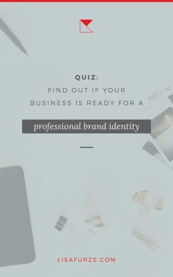 If you're planning to get some professional help for creating the visual identity for your brand — try this quiz first!