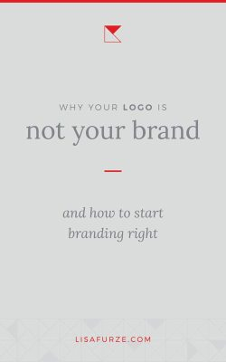 How to start branding your business and why the process doesn't begin with your logo design or other visual elements.