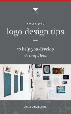 Logo design tips to help you develop strong ideas for your business as you create your brand identity.