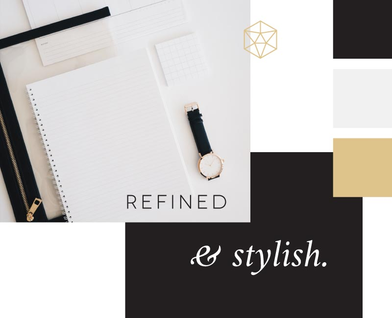 Your brand personality quiz result is refined and stylish!