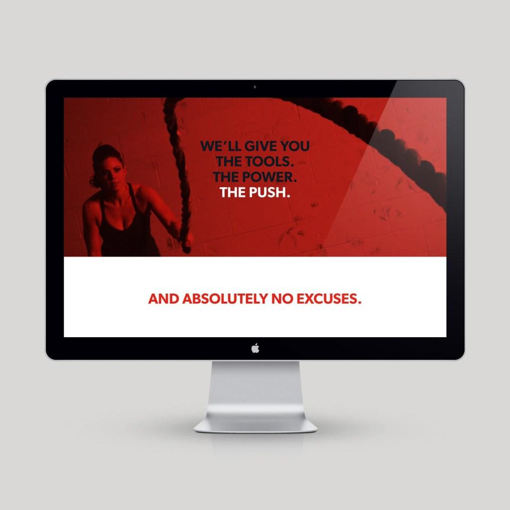 DMoose website design, designed by Lisa Furze