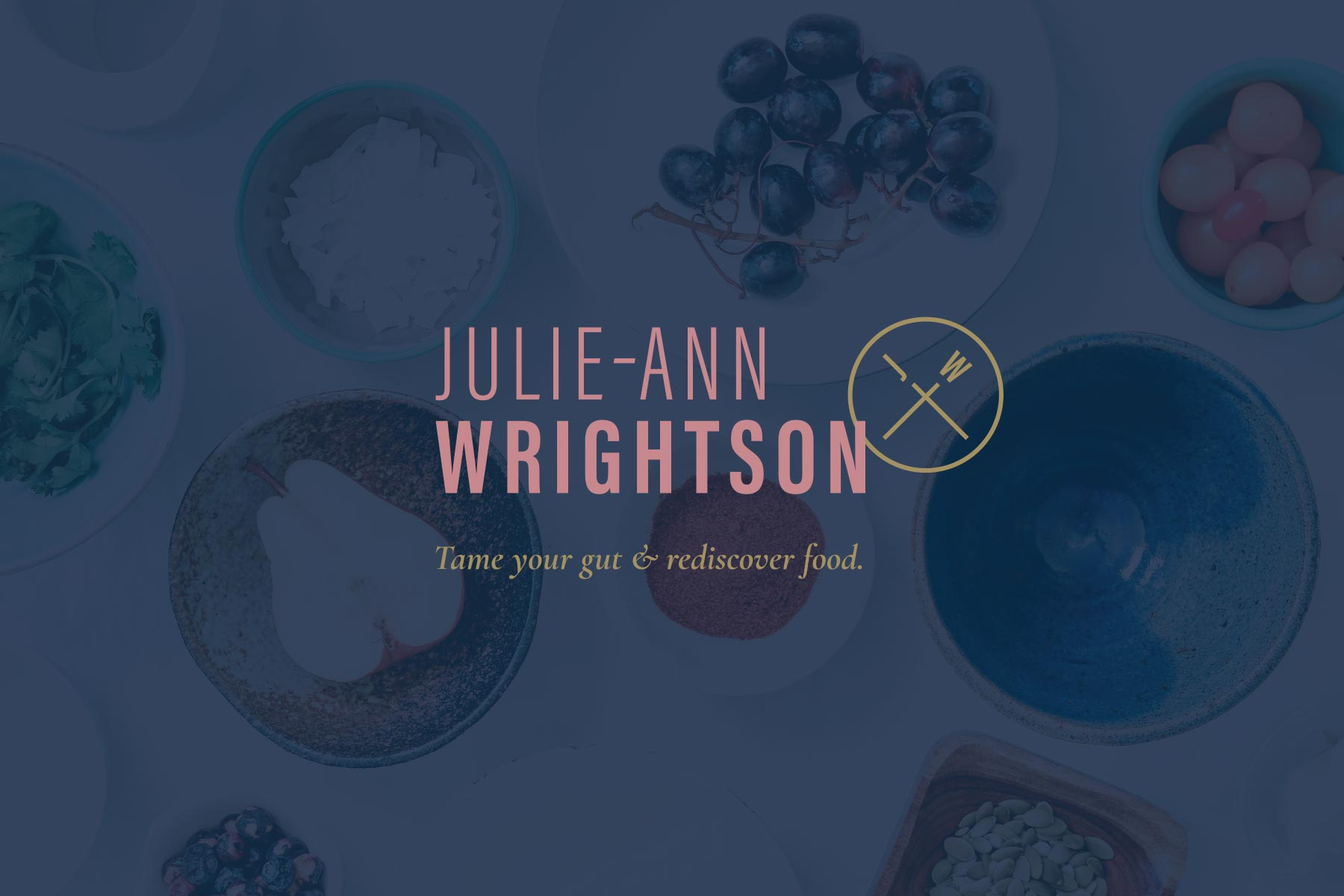 Julie-Ann Wrightson author logo, designed by Lisa Furze