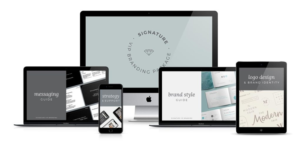 Here's everything the signature branding package includes