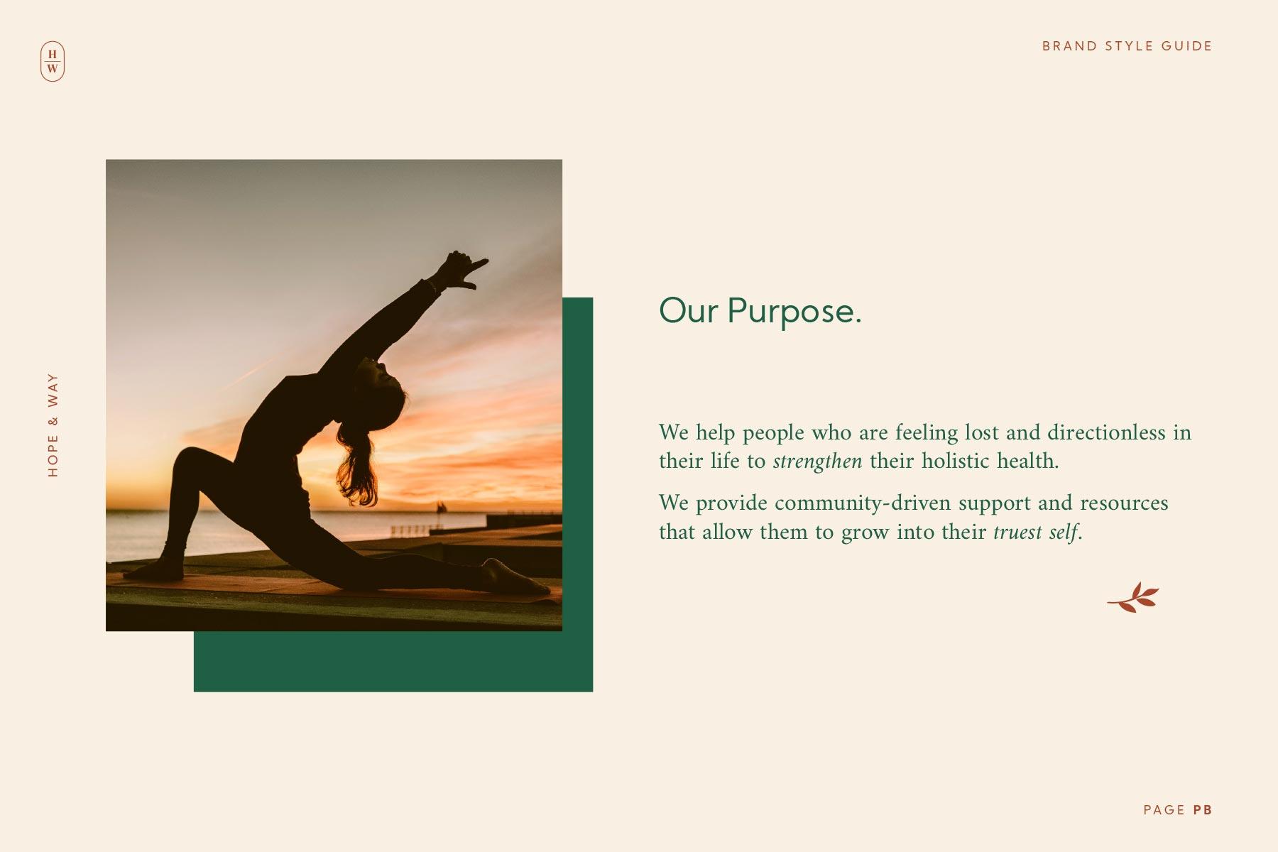 Holistic brand purpose