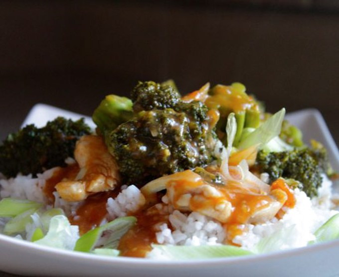 Chicken and Broccoli Stir fry with Tomatoes