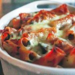 Pasta al Forno with Chicken and Cremini Mushrooms