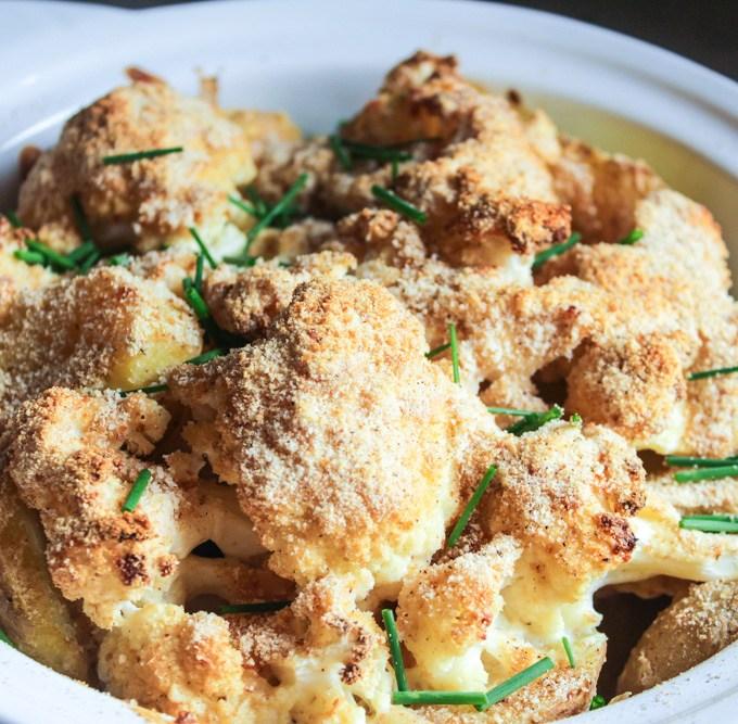 Potato – Cauliflower Gratin
