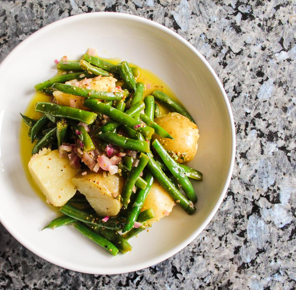 Warm Green Bean and Potato Salad
