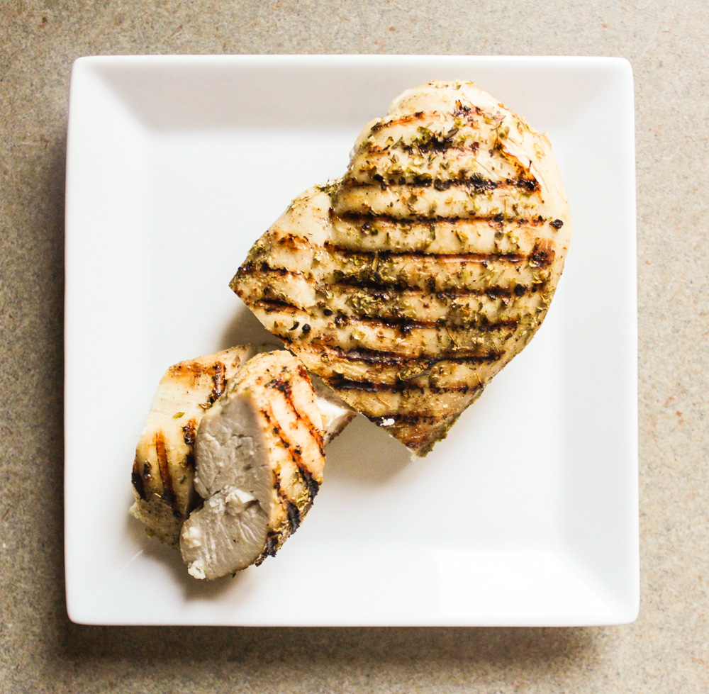 Grilled Chicken in an Italian Spice Rub