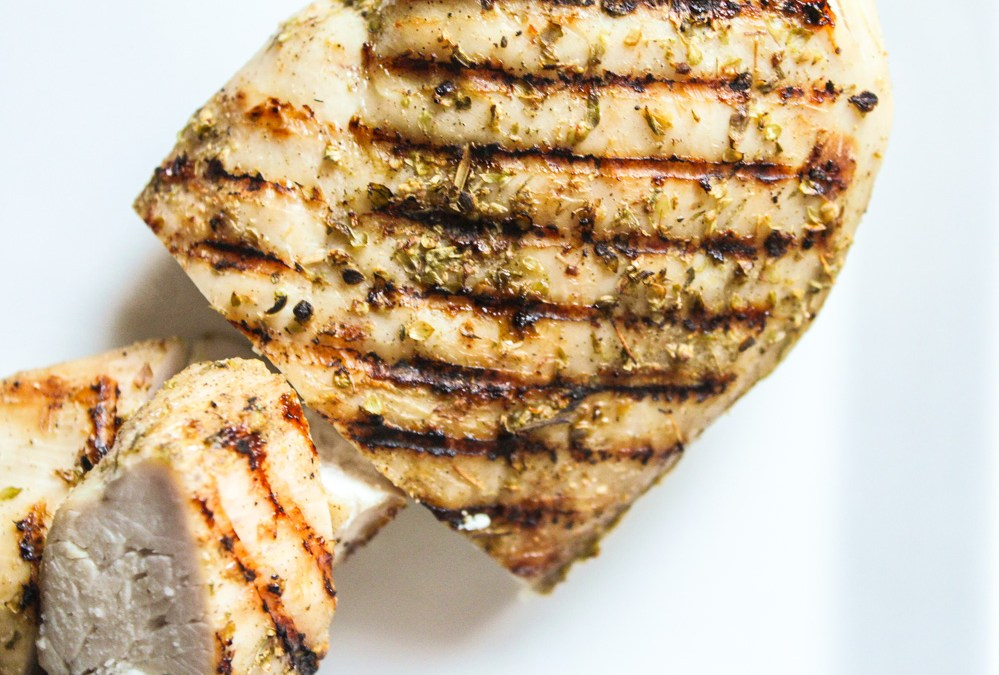 Italian Spice Rubbed Grilled Chicken