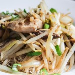 Chicken Chow Mein with Vermicelli