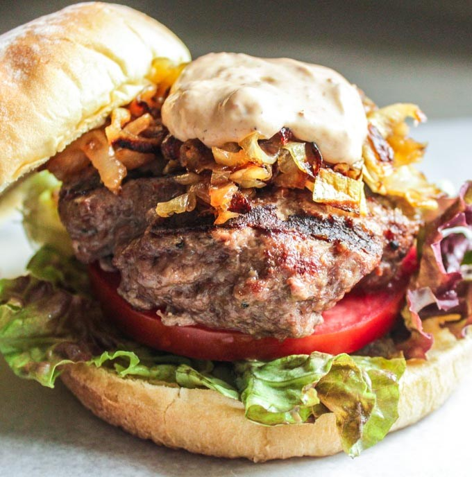 Smoky Chipotle Burgers