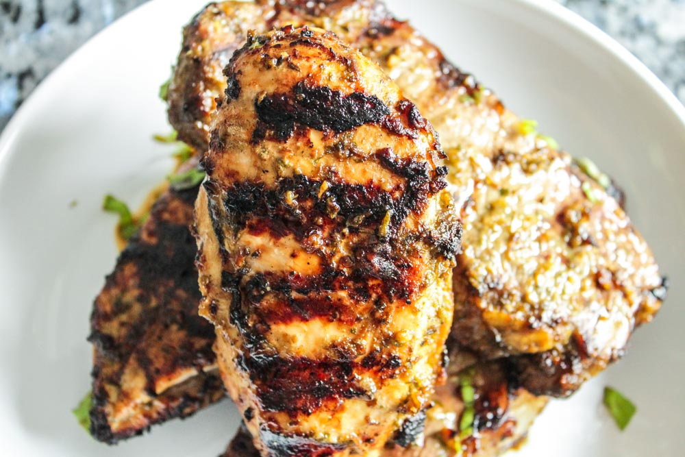 lemon-balsamic marinade