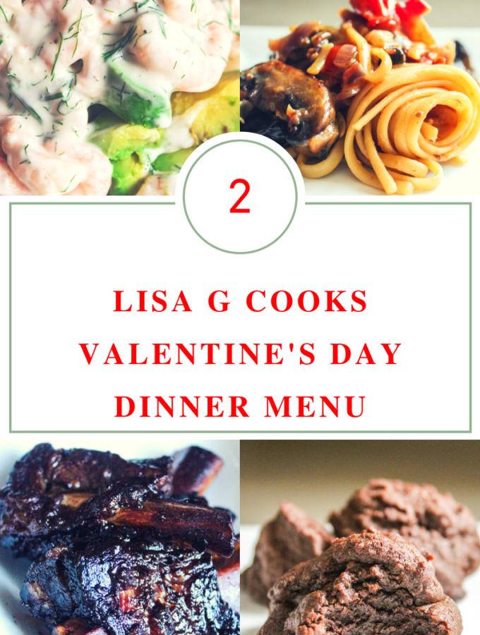 Valentine's Day Dinner Menu – 2