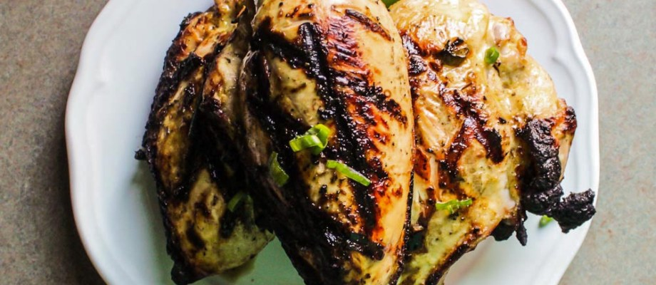 Jalapeño Marinated Grilled Chicken