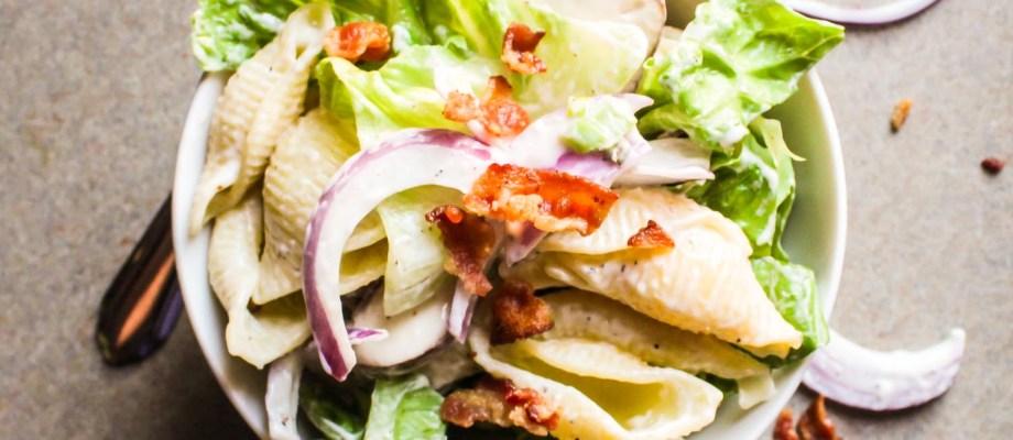 Carbonara Pasta Salad