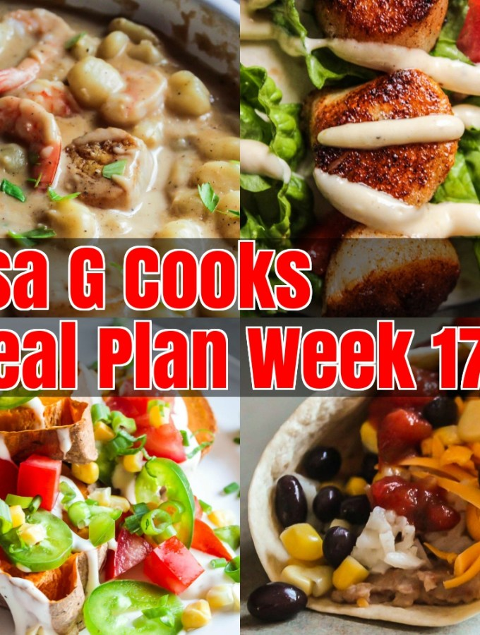 Meal Plan Week 17