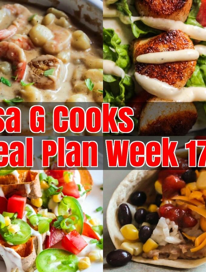 Meal Plan Week 17
