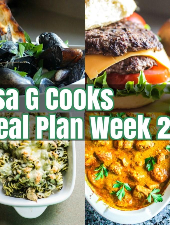 Meal Plan Week 27