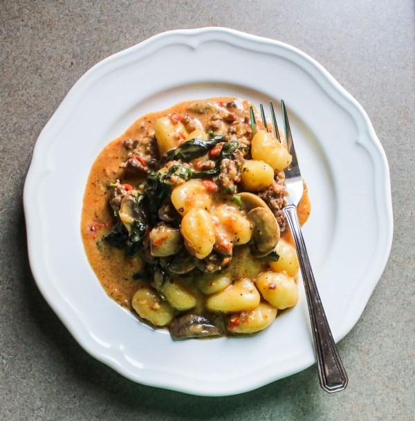 Spicy Gnocchi Toscana