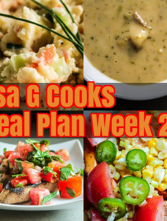 Meal Plan Week 29