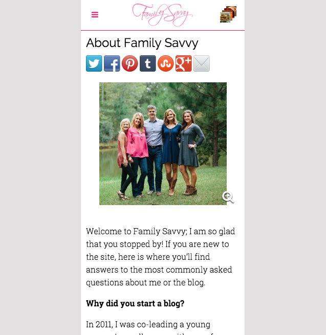 The Family Savvy