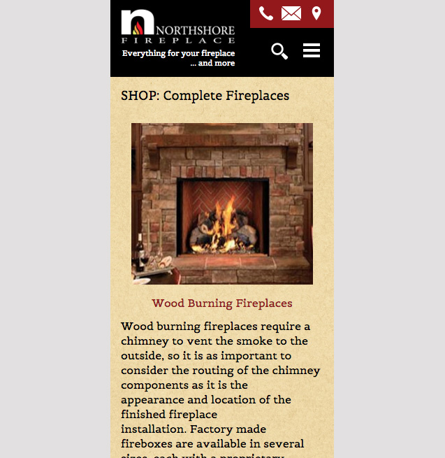 Northshore Fireplace