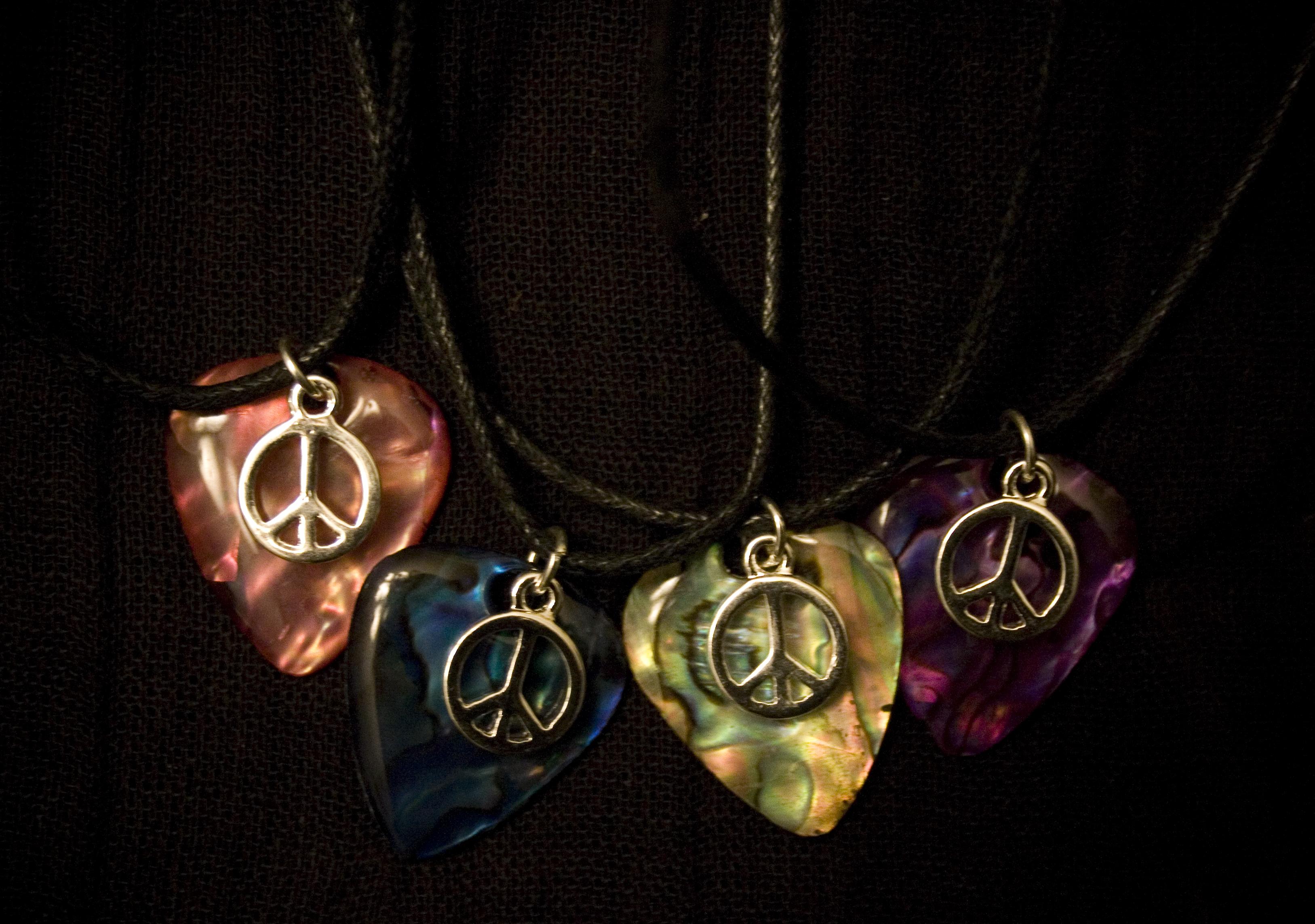 Pick Personalized Guitar Men Necklace