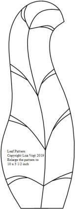26 Grape Tulip Leaf Pattern