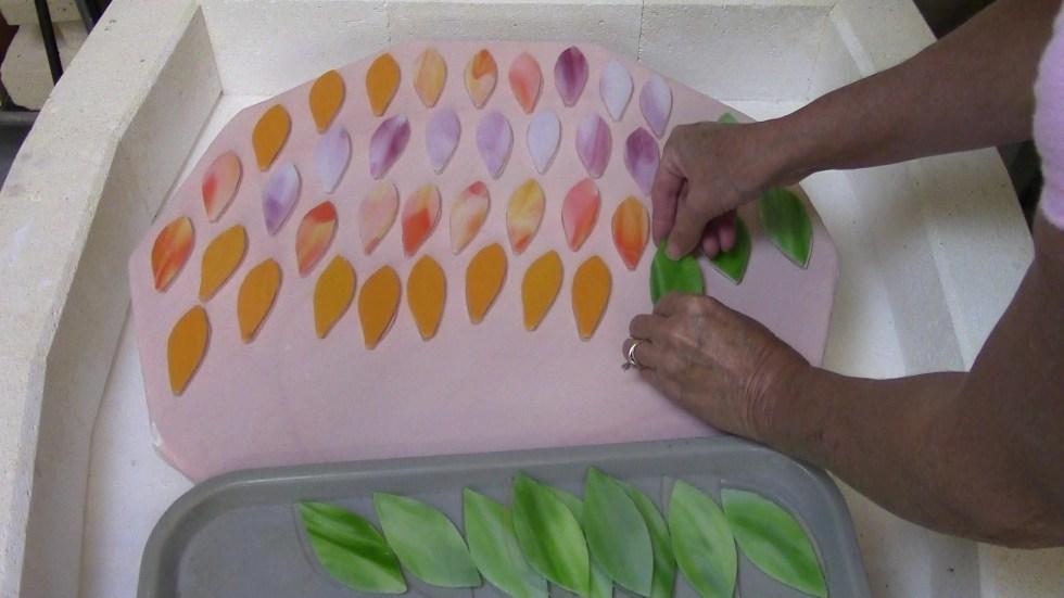 GP Fusing flower petals