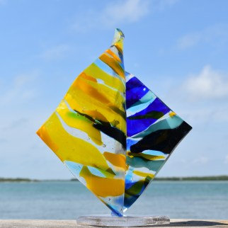 Dancer as seen in Sculptural Fused Glass with Lisa Vogt