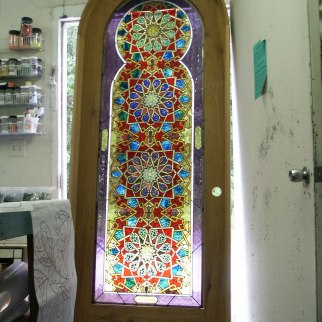 Stained Glass by Lisa J Vogt