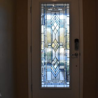 Leaded Door by Jessie and Jake Battin with Lisa and Joe Vogt