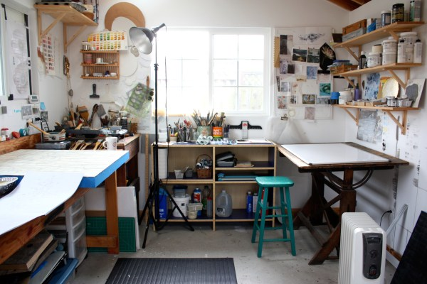 Home Art Studio Paint