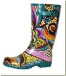 Sturdy garden boots