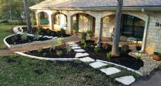 Patio paver stepping stones