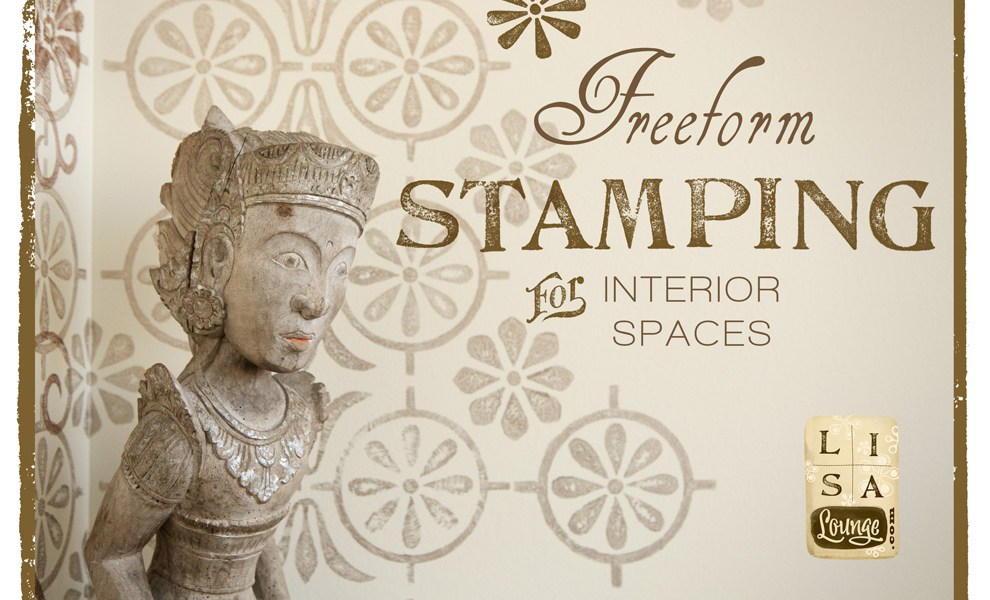 DIY Wall Decor: Freeform Stamping