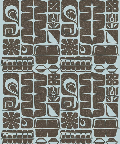 GeoTribal Textile Pattern