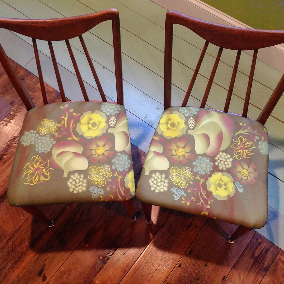 Succulents Chairs