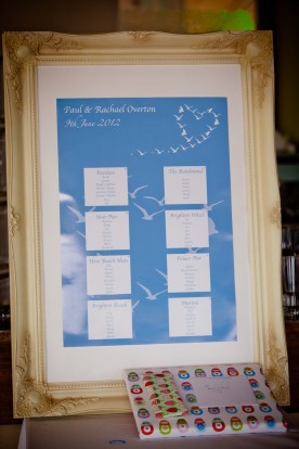 Table Plan - Copyright PhotoMadly