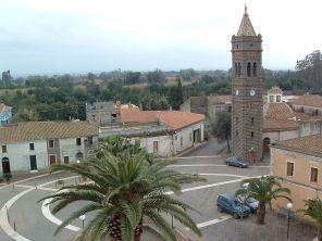 Piazza Martiro in Milis